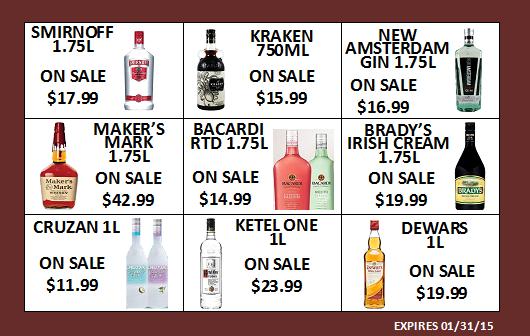January Sale Items!